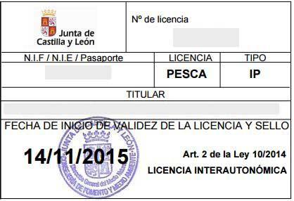 Pasos para sacar la licencia interautonómica