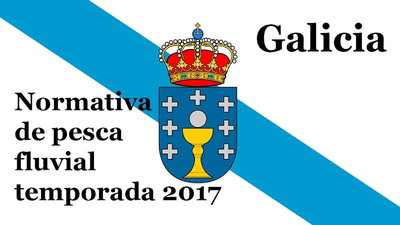 Normativa de pesca fluvial en Galicia 2017