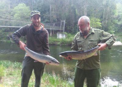 Antonio Blanco y Fererdo Romero, río Eo