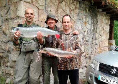 Salmones río Pas