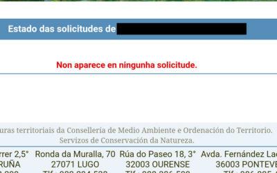 Listas de admitidos y excluidos en Galicia
