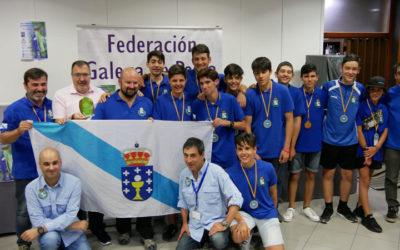 La Federación Gallega de Pesca campeona de España.