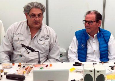 Miguel Piñeiro y Vicente Longo