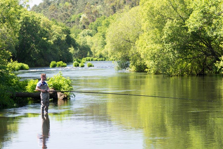 Concurso salmón 2019, varada con la River Flow de Tubertini